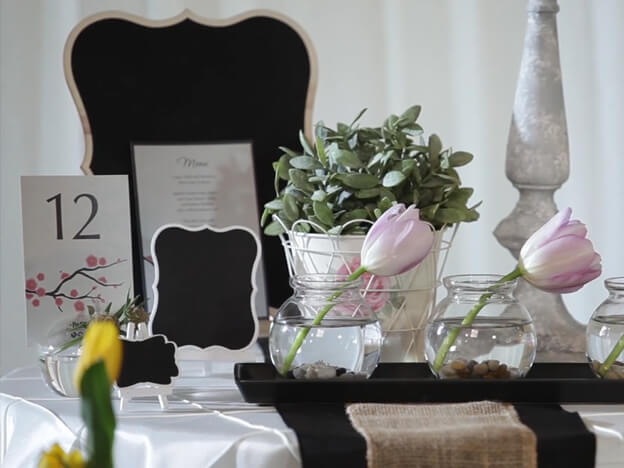 3. Video: Centerpieces for Round Tables