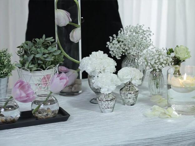 4. Video: Simple Floral Centerpieces
