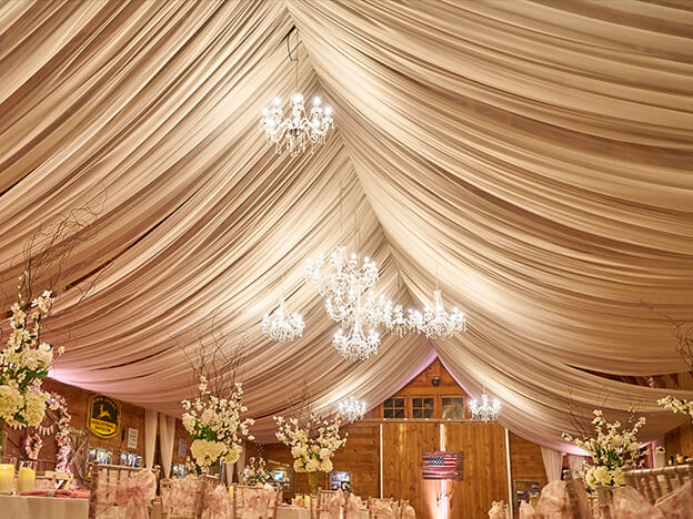3. Video: Barn Ceiling Draping