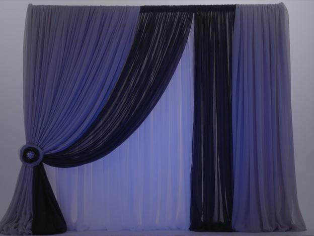5. Video: Custom Asymmetrical Backdrop