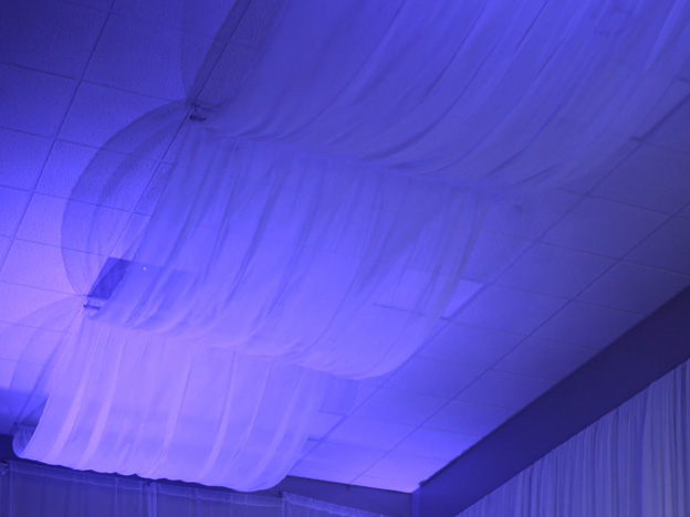 2. Video: Linear Ceiling Draping